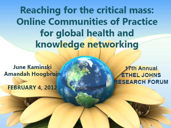 Online Communities of Practice Powerpoint
