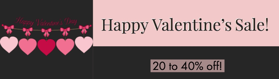 Happy Valentine's Sale