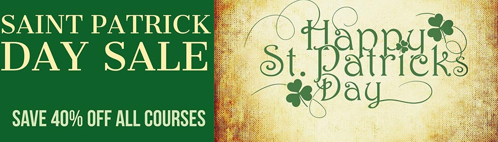 St Patrick's Day Sale