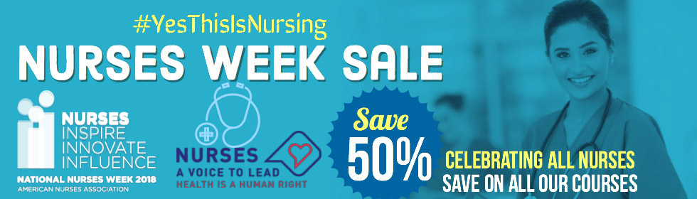 Nurses Week sale