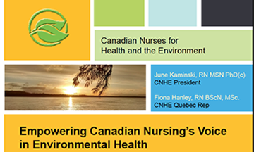 Empowering Canadian Nursing's Voice in Environmental Health
