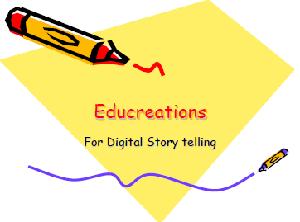 Educreations for Digital Storytelling